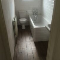 Bathroom change
